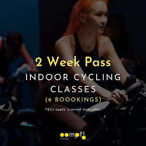 2 week pass- indoor cycling classes
