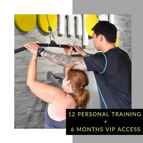 12 Personal Training + 6 Months VIP access