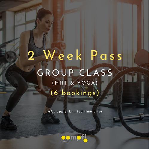 2 week pass - HIIT, Strength & Yoga