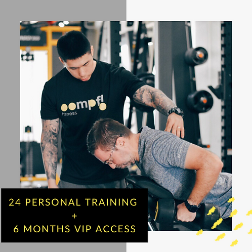24 Personal Training + 6 Months VIP access