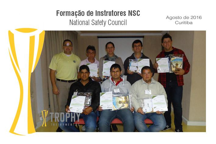 Formação de Instrutor NSC - Curitiba