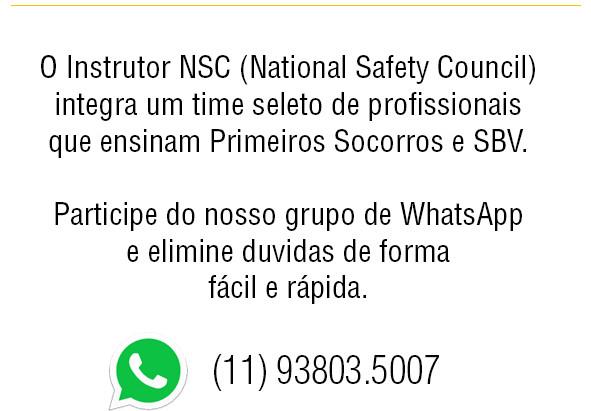 Novo canal de atendimento aos Candidatos a Instrutor NSC