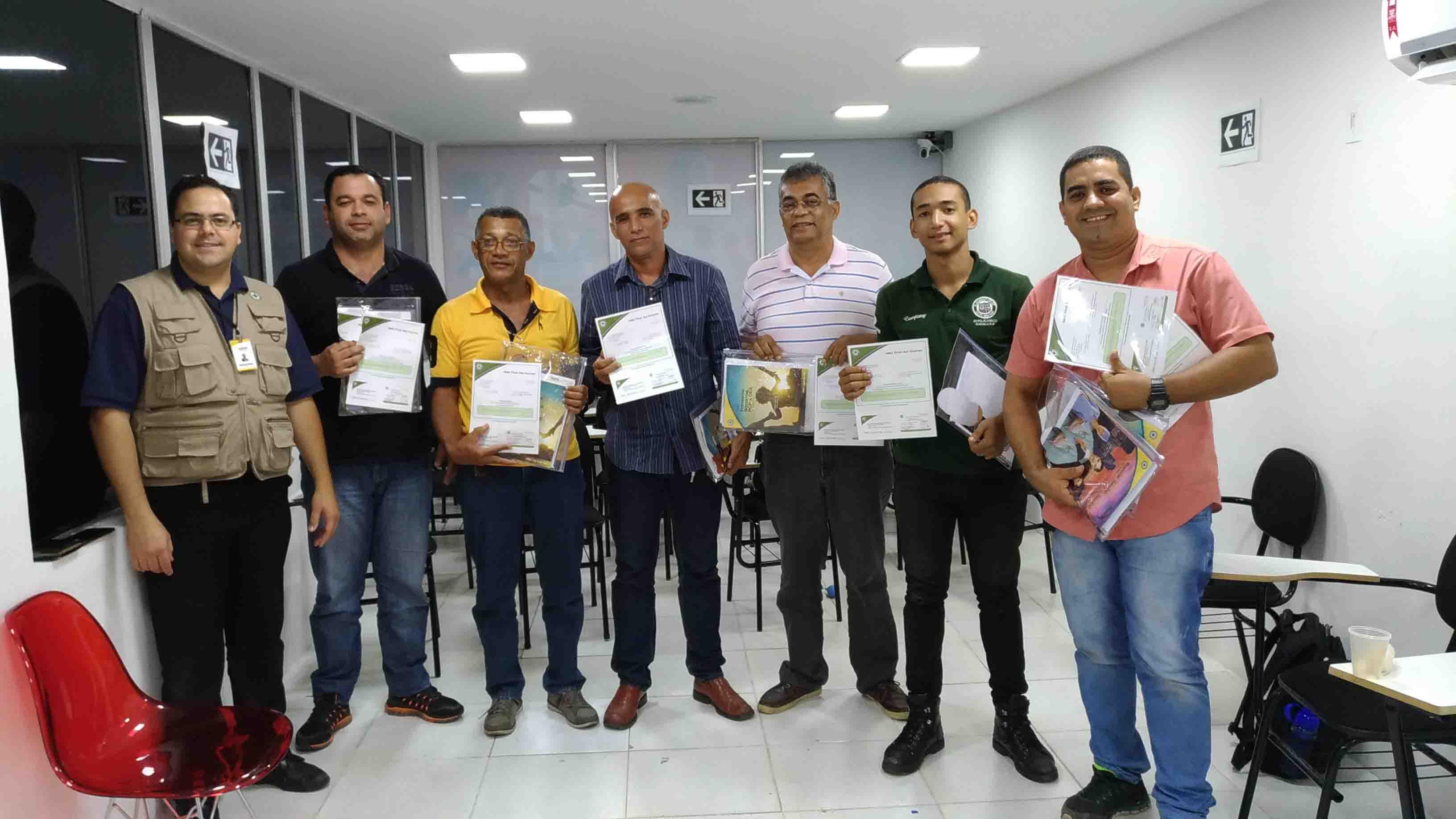Formação de Instrutor NSC - Bahia
