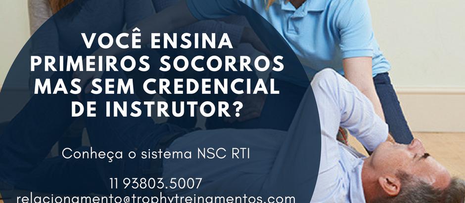 Por que ser Instrutor NSC?