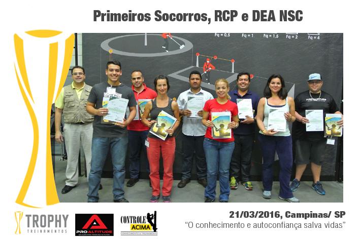 Março de 2016, Campinas/ SP