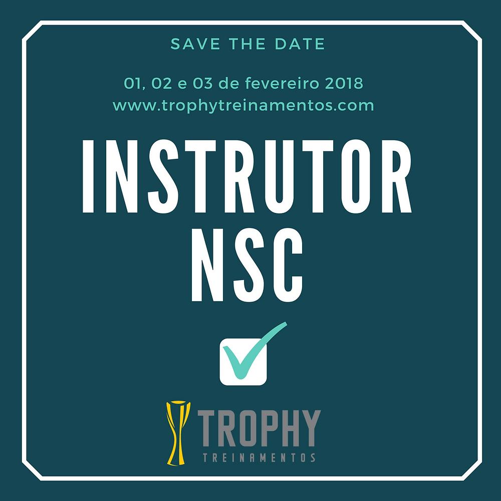 Instrutor NSC Trophy Treinamentos