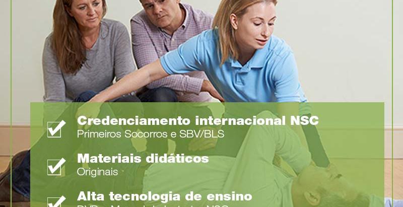 Abril/2017: Formação de Instrutores NSC