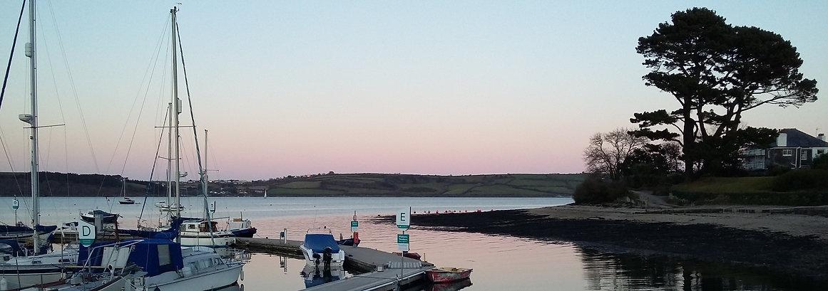 Mylor Harbour, Cornwall
