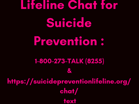 Looking for Chat Support to help with Suicidal Thoughts?