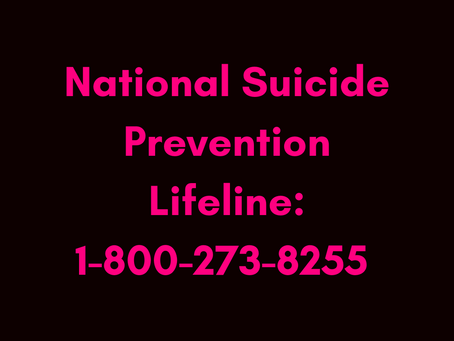 Are You or Someone You Know Having Suicidal Thoughts and Need Immediate Help?