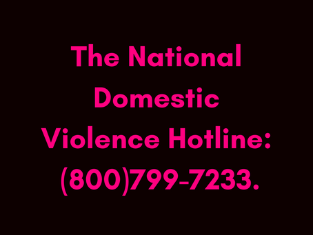 Are You or Someone You Know a Victim of Domestic Violence?