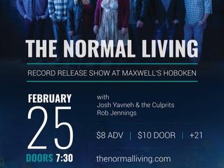 Record release show Feb 25 @Maxwell's in Hoboken