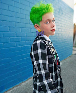 nonbinary teen