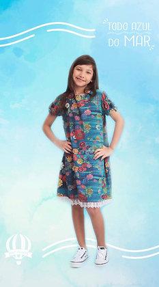 Vestido Anitta jardim