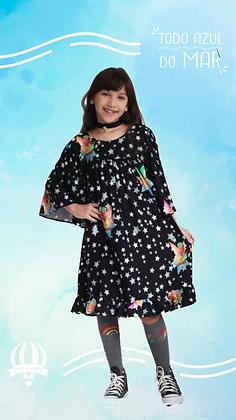 Vestido Fernanda Fada nas Estrelas