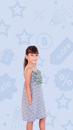 Vestido Emília xadrez