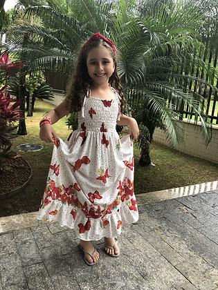 Vestido Antonella Papillon branco