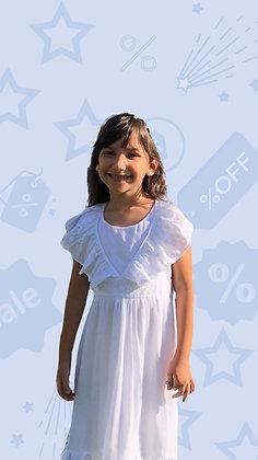 Vestido Amanda branco