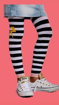 Meia Calça - Tipo legging, sem pé