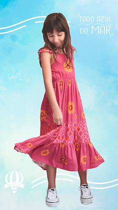Vestido Kika girasole