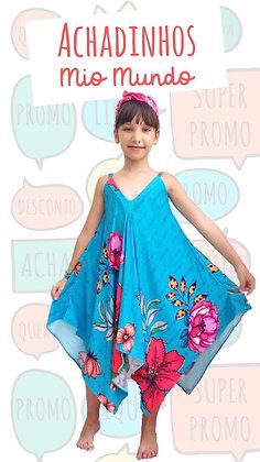 Vestido Cléo Papoula
