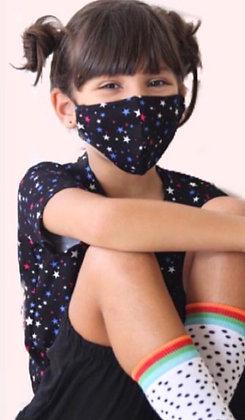Máscara estrelinhas