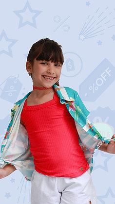 Camiseta Maricota Goiaba