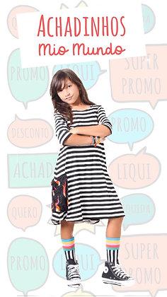 Vestido Camila Listras
