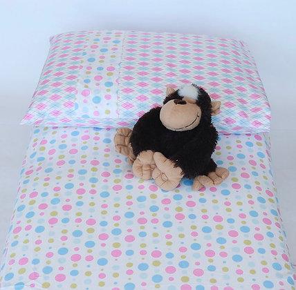 Roupa de cama solteiro mix de estampas