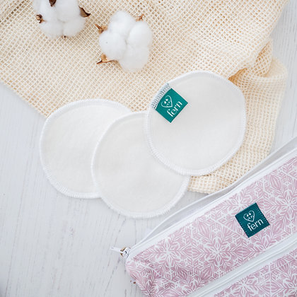 Organic Cotton Make-Up Remover Pads x 3