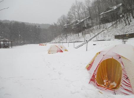 【終了しました】いわなの郷 極寒キャンプ開催 2019/12/14〜15・2020/1/25〜26