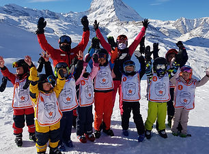 Kids Group Evolution Ski School Zermatt