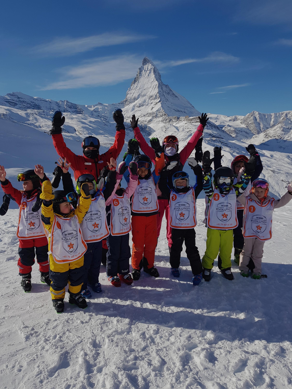Kids Group ski lessons
