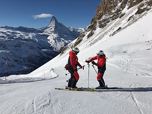 Private Ski lessons Zermatt