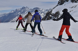 Private ski guide, ski lessons, learn to