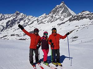 Evolution Ski School Zermatt Matterhorn