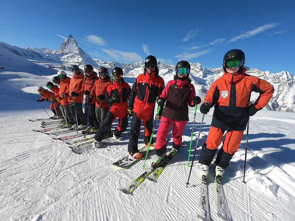 Evolution Ski School Zermatt Team