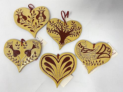 Sgraffito Ornaments