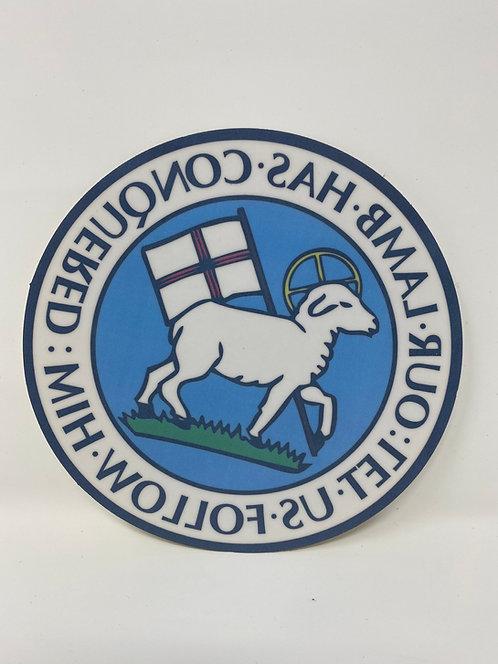 Moravian Lamb Seal Window Cling