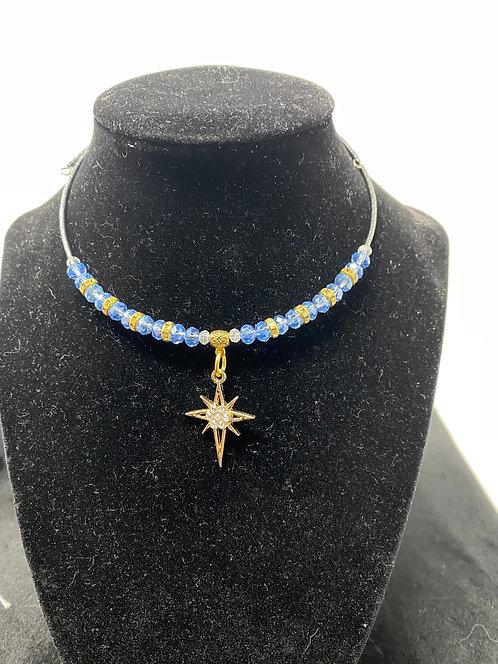 Star Choker Wrap Around Necklaces by Westwind Jewelry