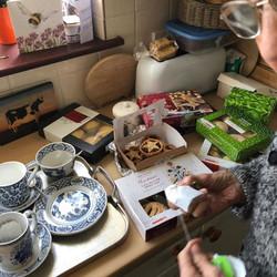 Nanna got mince pies