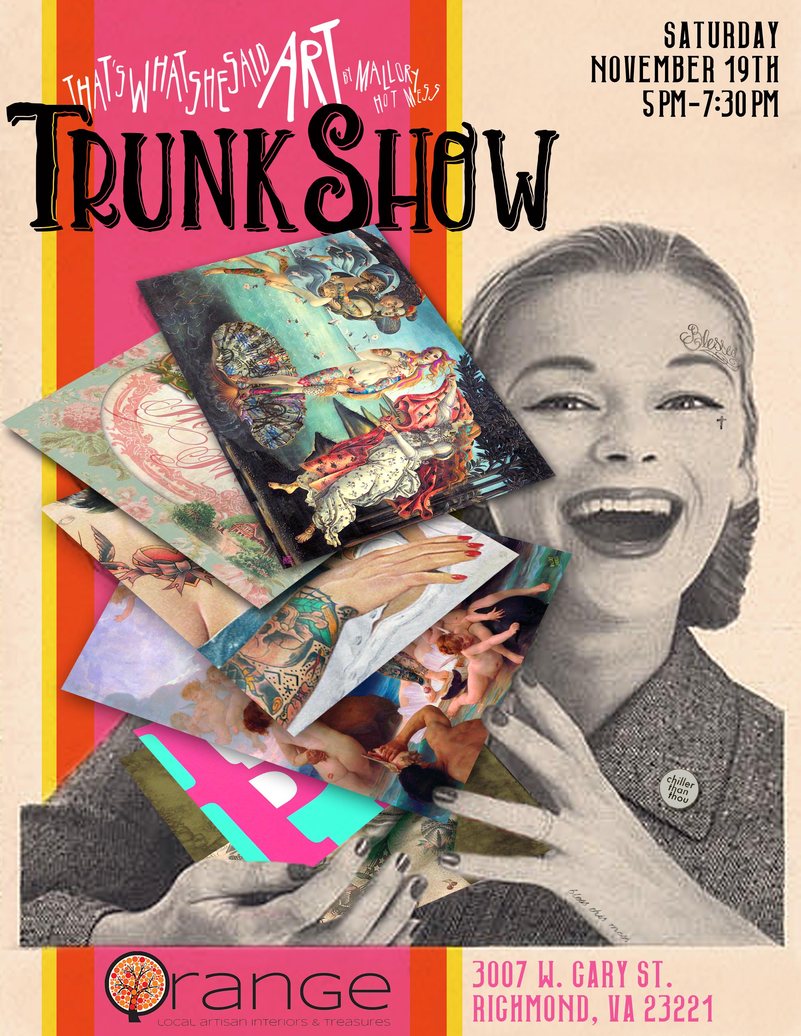 Nov 2016 Trunk Show
