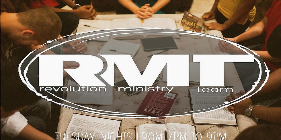 RMT - (revolution ministry team)