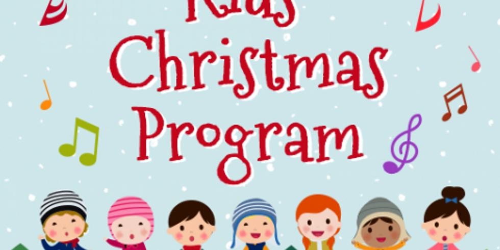 OASIS CHILDREN & YOUTH CHRISTMAS PROGRAM