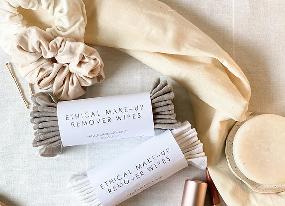 Ethical Make-up remover wipes