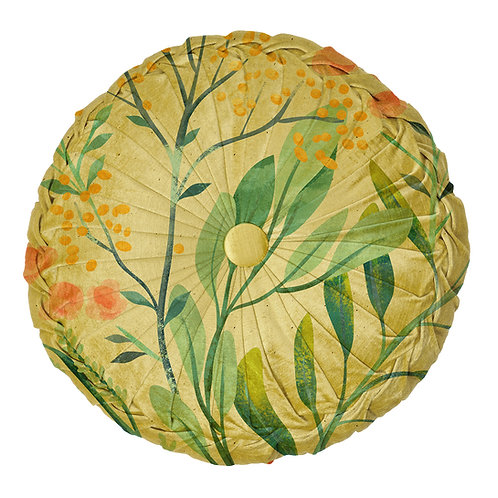 BOTANICAL ROUND CUSHION