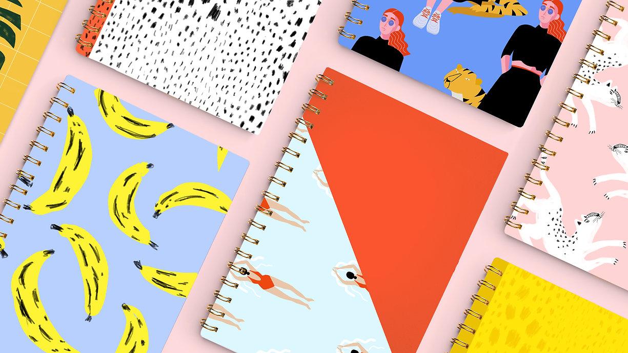 Notebooks Background Image