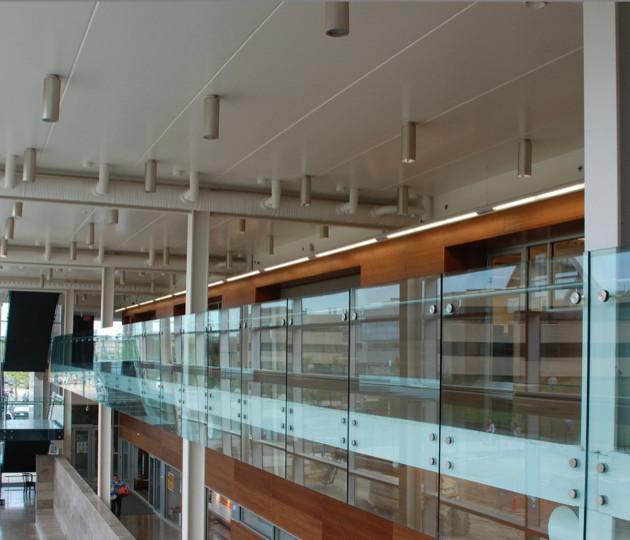 TermoDeck: Interior - Brock University, Canada