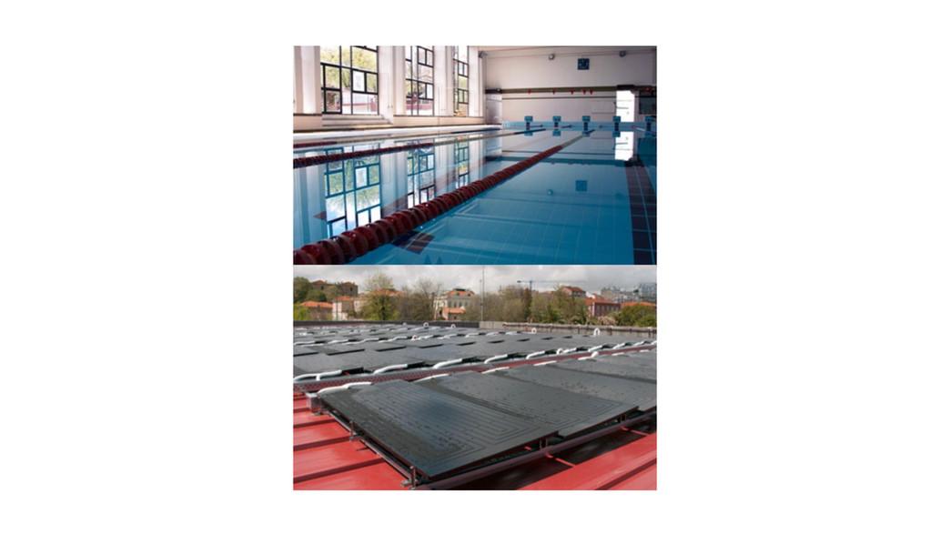 Energie SHW: Swimmig pool (2,000 ltr /  525 gal)