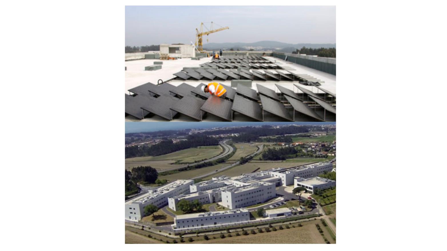 Energie SHW: Hospital (55,000 ltr / 14,500 gal)
